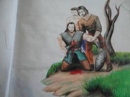 Smitten warrior by OhcmPS