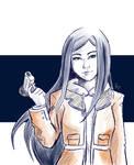 Natsuki Kuga Sketch - Mai Hime by AliDagos