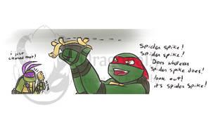 tmnt Spike the Spider Turtle
