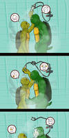 TMNT ALIB - Shower Time