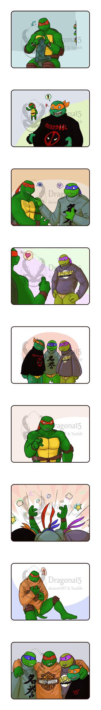 TMNT Raphael TMNTContests - Raphaels presents by Dragona15