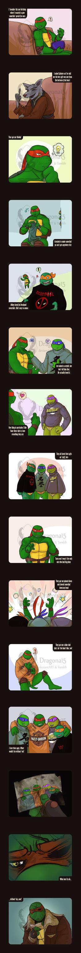 TMNT Raphaels Presents Extension by Dragona15