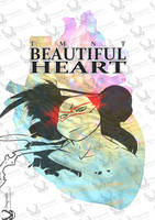 tmnt comic Beautiful Heart cover by Dragona15