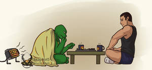 TMNT Something Unexpected Bishop N Raph Chess