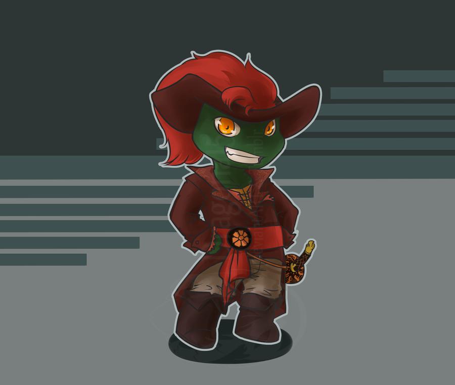 Pirates Slash Raph Chibi Apart1 By Dragona15 On DeviantArt
