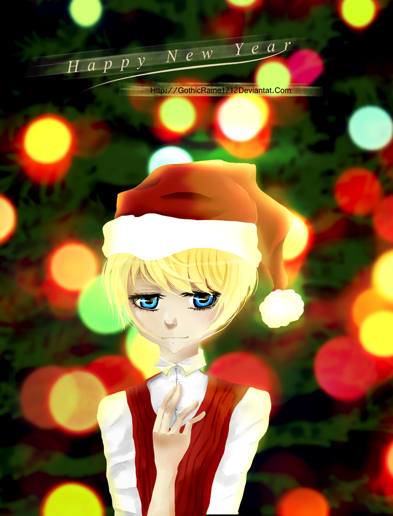 Alois Wishes You a Happy New Year by GothicRaine1712