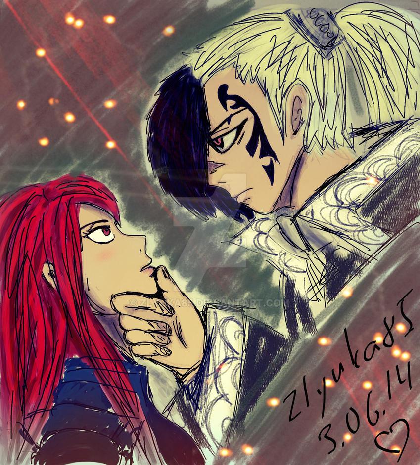 Rogue X Erza Fairy Tail By Zlyuka85 On DeviantArt