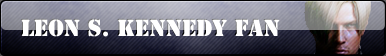 BUTTON: Leon S. Kennedy Fan by FrozenStrike