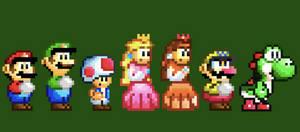Super Mario Mania sprites