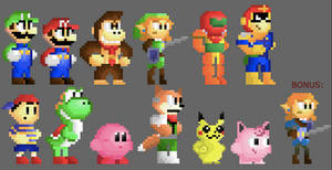 Super Smash Bros 64 and Knuckles!