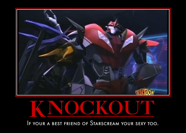 transformers prime knock out memes pictures to pin on