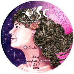 OSC Organic Earthly Flotation vinyl Aside label by eetupellonpaa