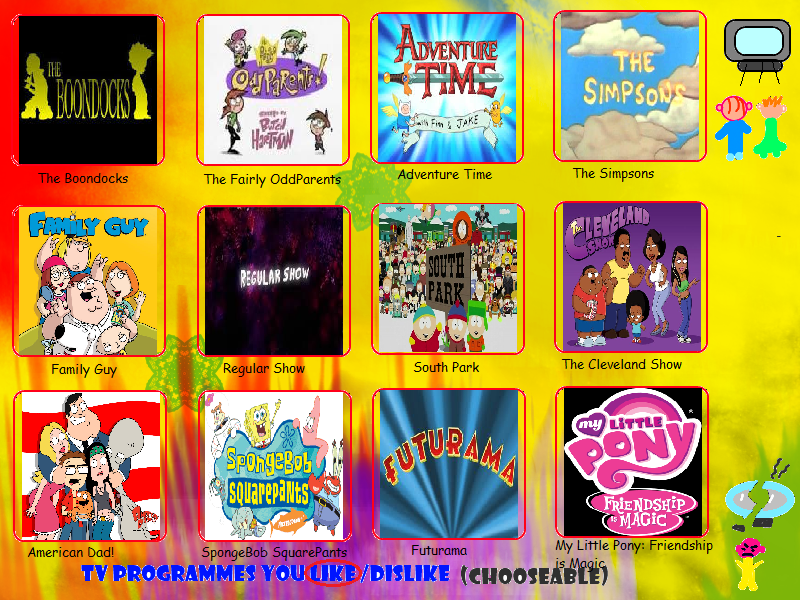 Ragameechu 39 s favorite tv shows list by ragameechu on for Craft shows on tv