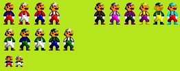 SNES-style SMB sprites by Ragameechu