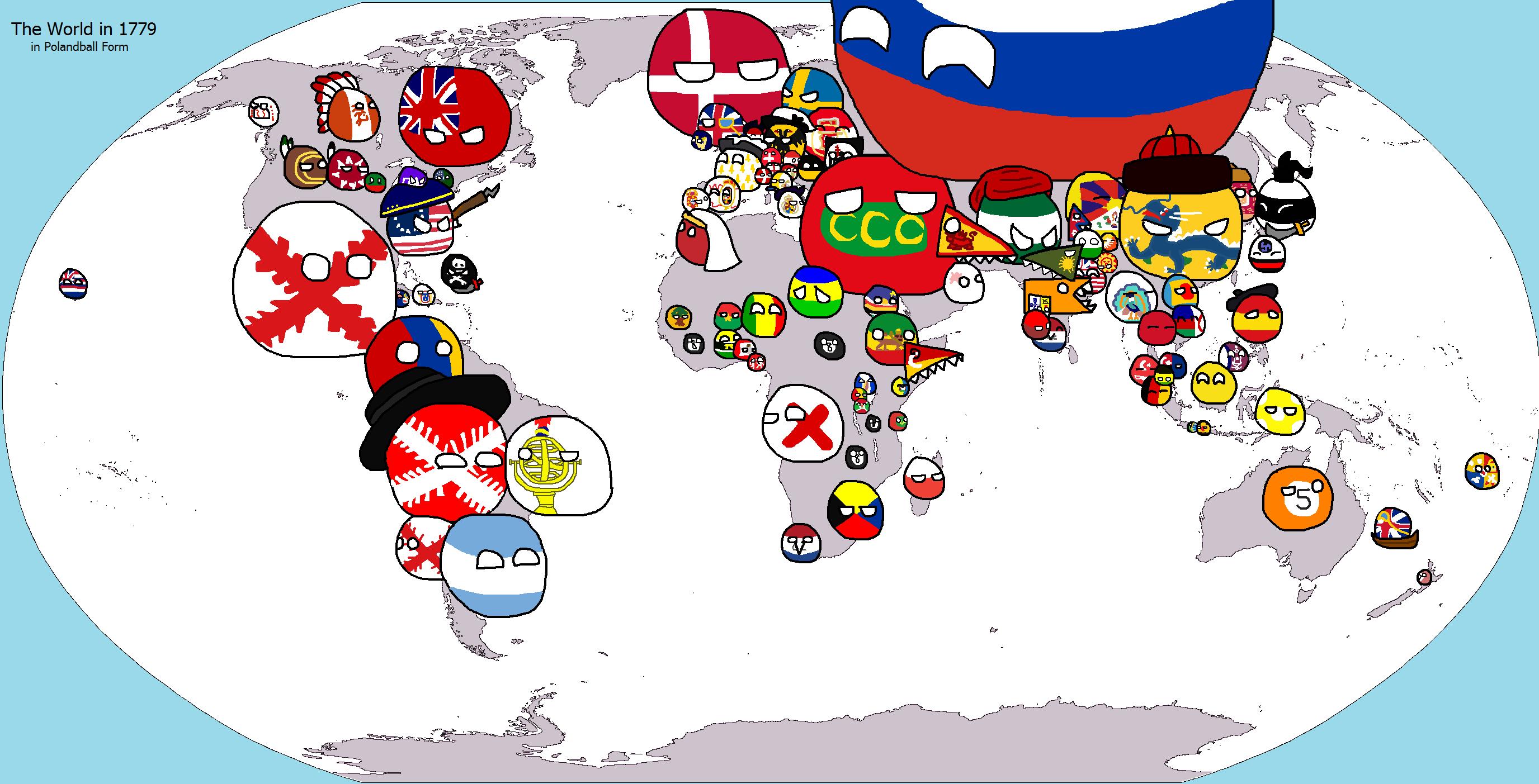 polandball world game