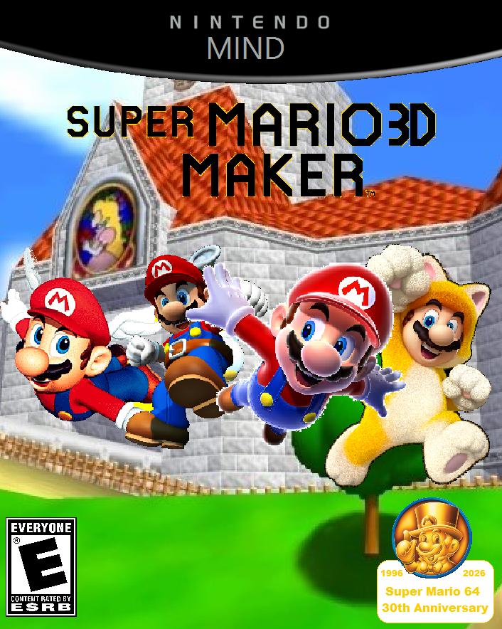 Super mario 3d maker cover by ragameechu on deviantart for 3d art maker online