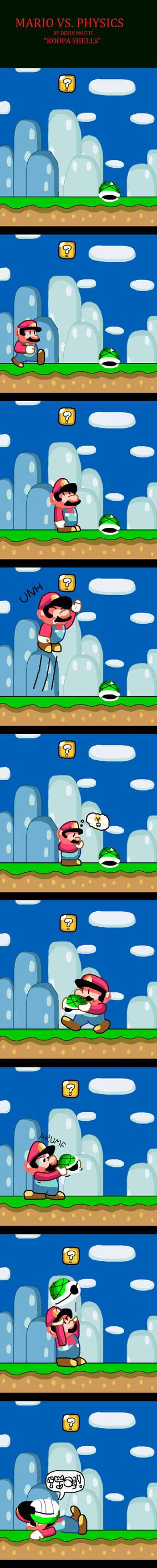 Mario vs. Physics - Koopa Shells