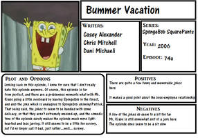 Bummer Vacation re-review