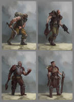 Blood pact troopers by Diamondaectann