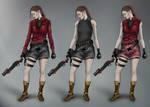 Claire Redfield RE2 Remake Redesigns (Update)