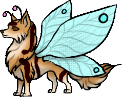 Butterfly Wolf by Airazone