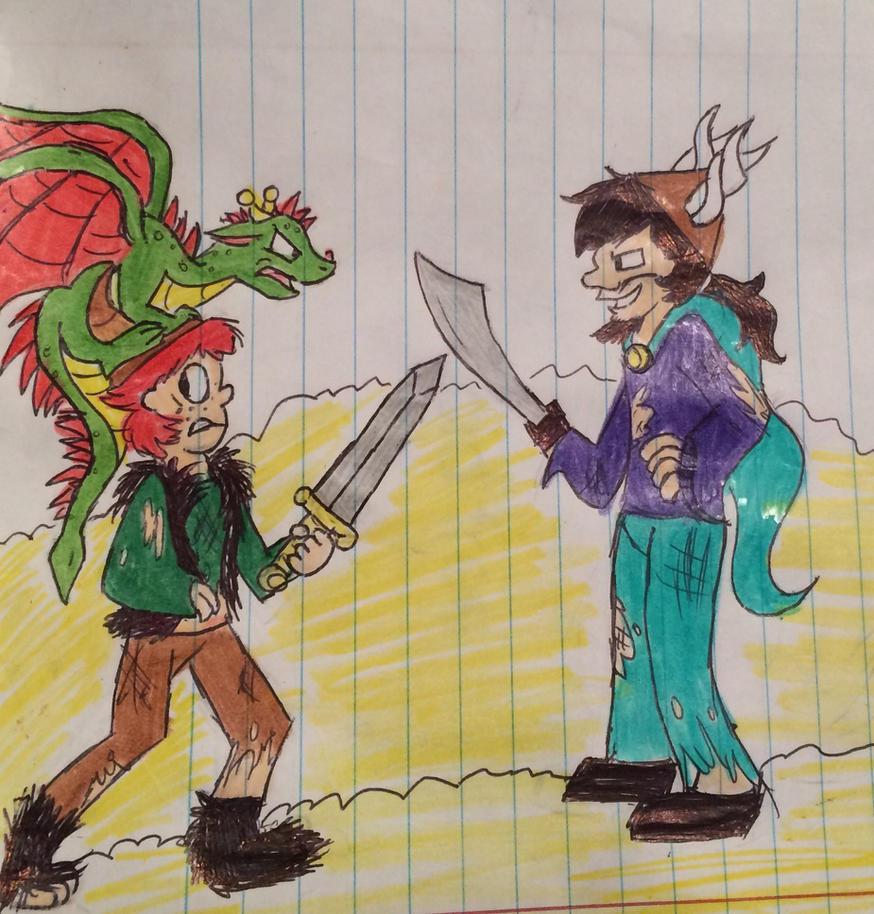 Hiccup Vs Alvin The Treacherous (colored) By Theskythekid2