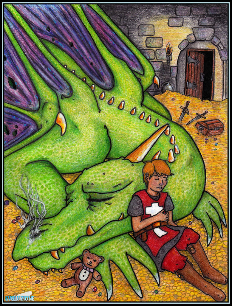 George and the Dragon by evoluzione