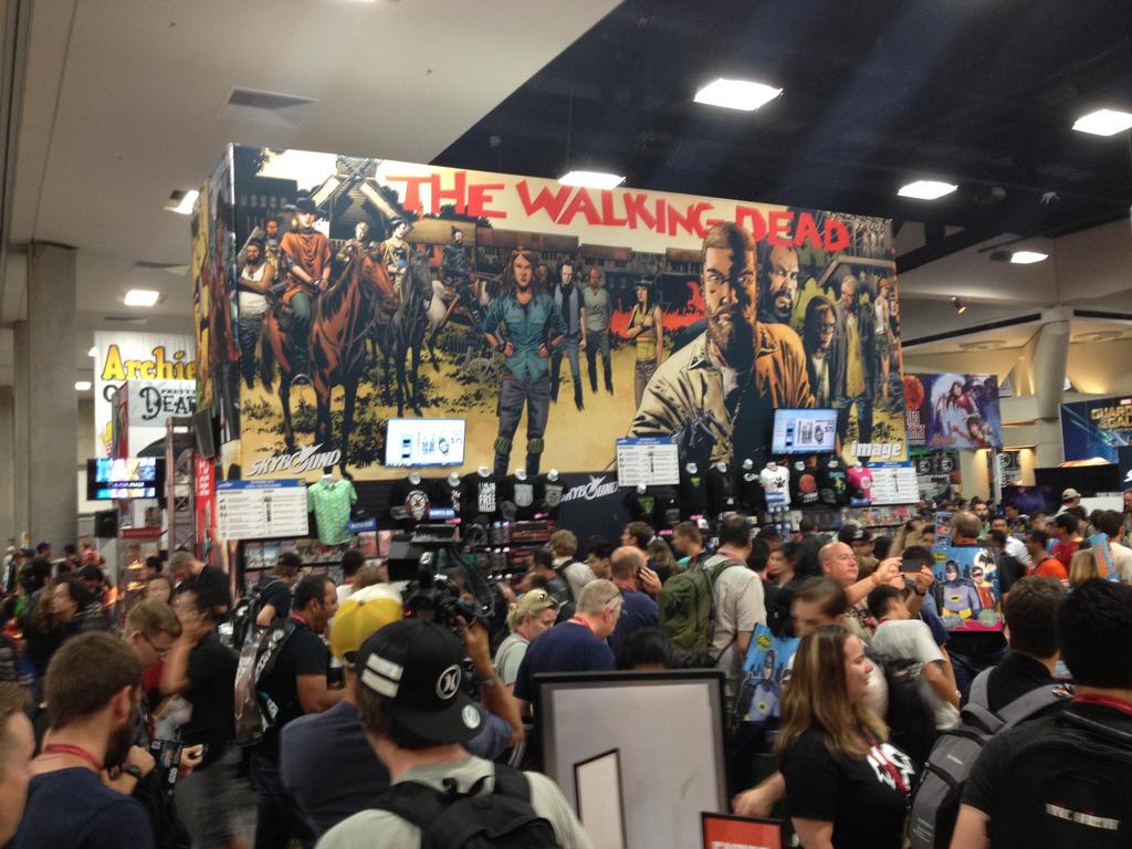 Comic Con 2014 Floor 1 by evoluzione