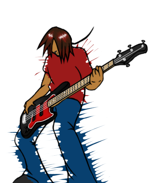 Bass Player Anime | www.pixshark.com - Images Galleries ... Anime Bass Player