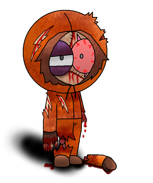 South park zombie kenny by agentkulu on deviantart - Pics of kenny from south park ...