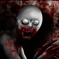 SCP-096 Macabre doodle by AgentKulu