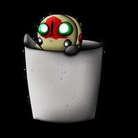 Chibi 173 in a cup by AgentKulu