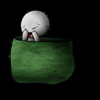 Chibi 096 in a pocket by AgentKulu