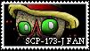 SCP-173-J stamp by KuluKnightofDarkness