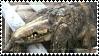 SCP-682 Stamp by AgentKulu