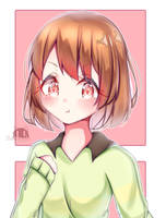 Chara from undertale by REDAPU