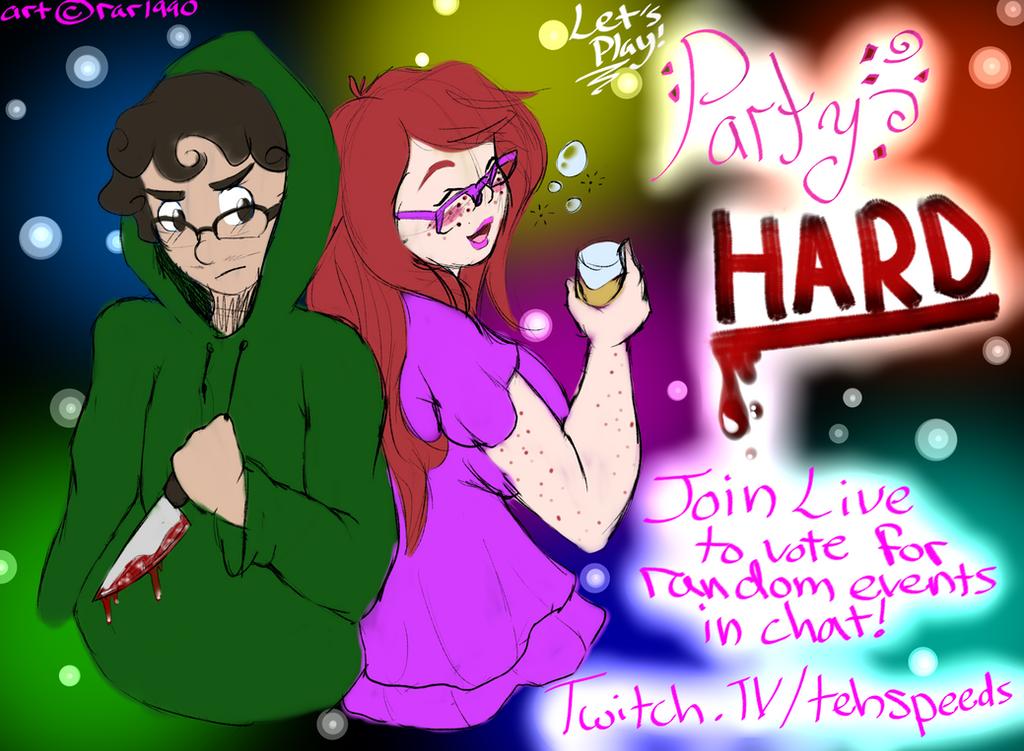 Twitch Game Stream - Party Hard + Mario Odyssey by SpeedyHimura