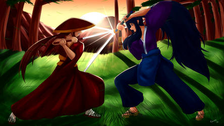 The Duel by SpeedyHimura