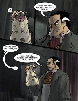 Boss meets a Pug