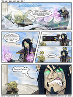 Warcraft comic -dat mount by peachiekeenie
