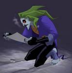Joker still loves snow and posters
