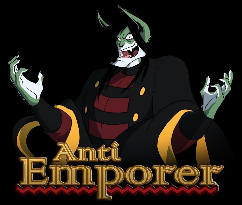Anti Emporer - Banner Collab by peachiekeenie