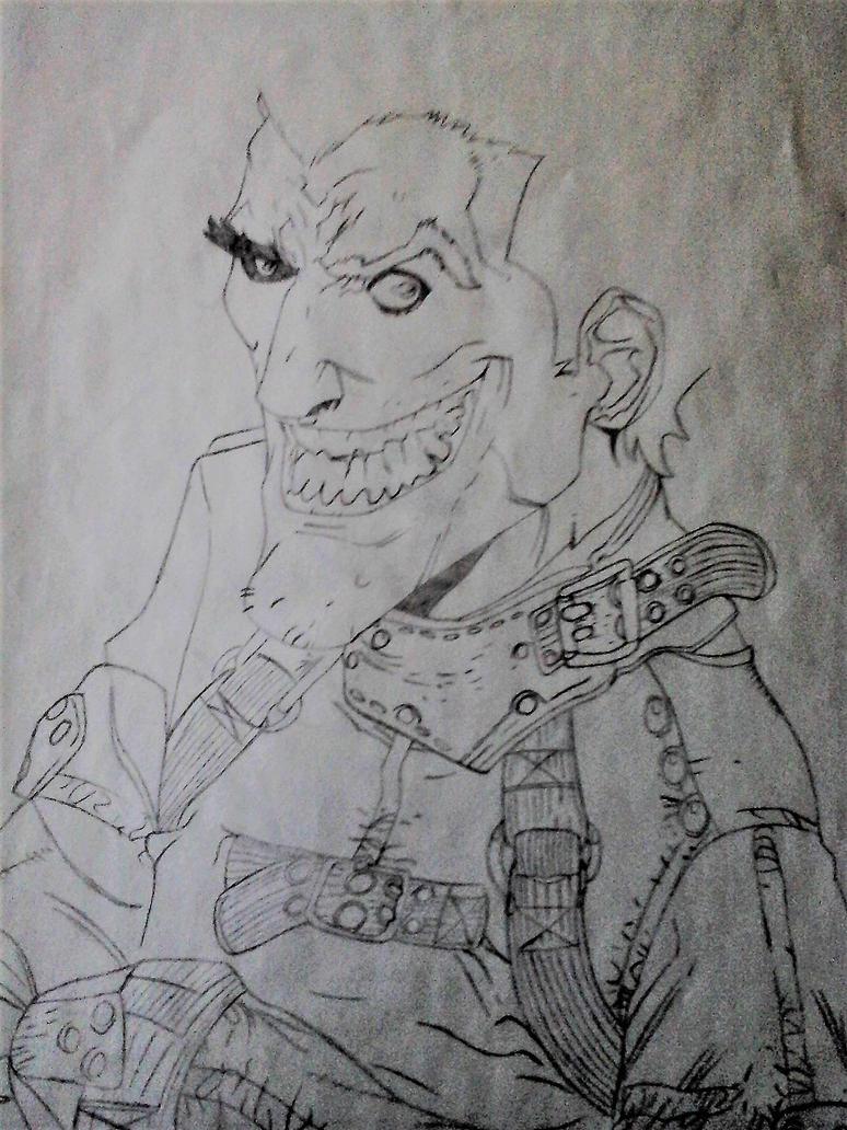 Joker work in progress by TheBuuman