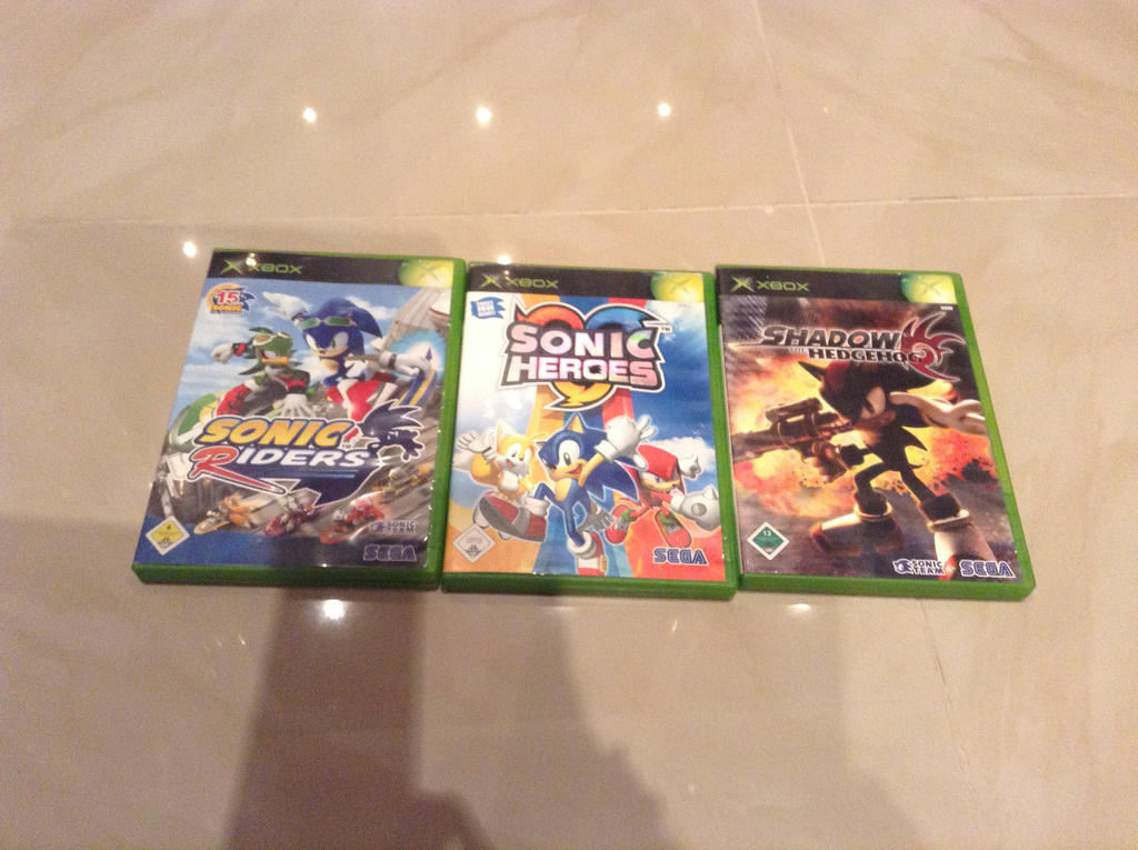 My Sonic Games For Xbox by XxNeo-The-HedgehogxX