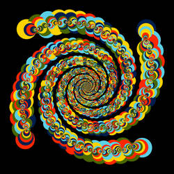 Fractal 001: Color twister by hxseven