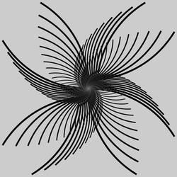 Fractal 002: Black wings