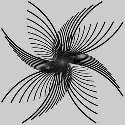Fractal 002: Black wings by hxseven