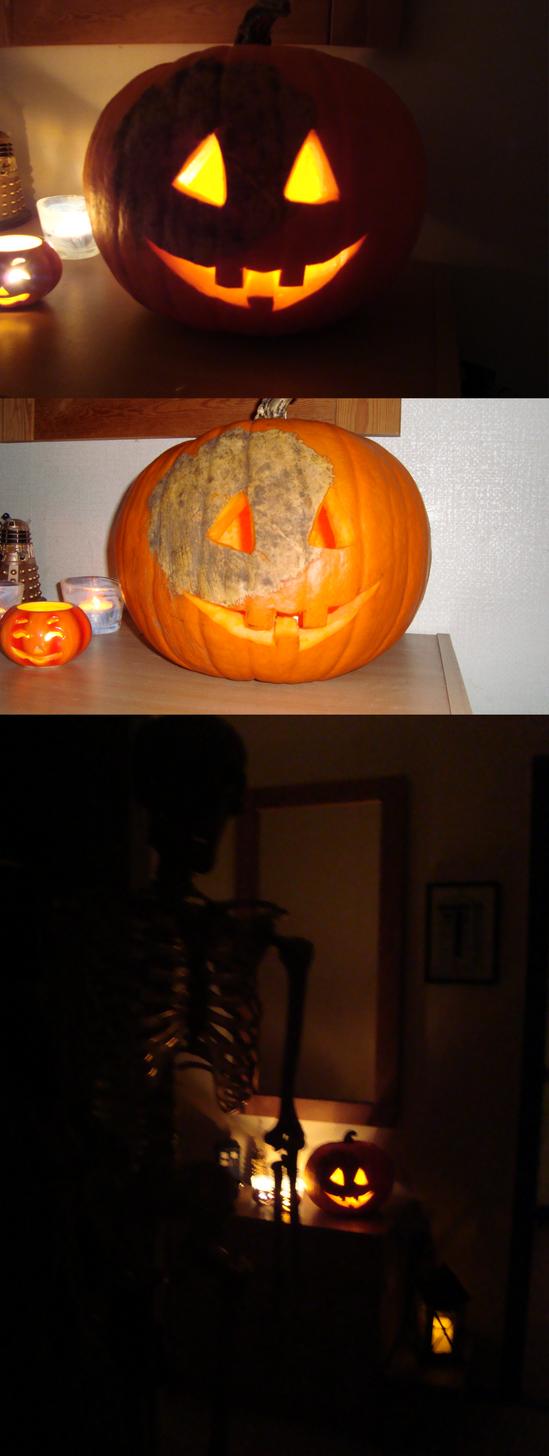 Patch the pumpkin by EmberWolfsArt