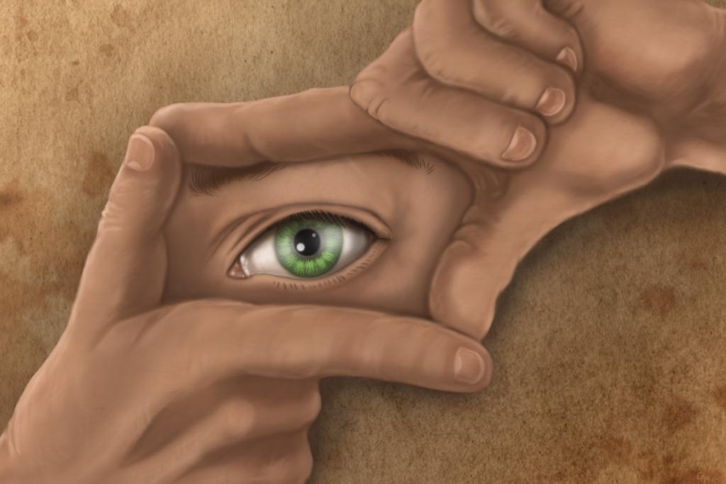 To see through my eyes by EmberWolfsArt