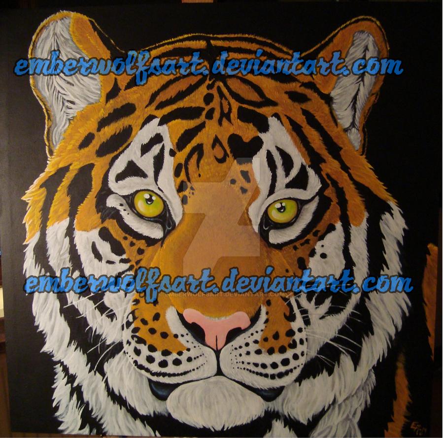 Tiger by EmberWolfsArt